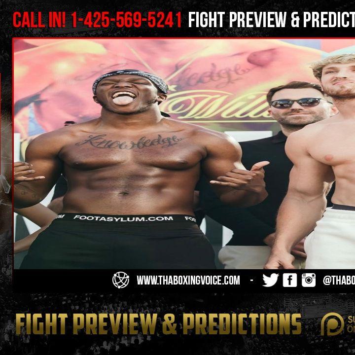 "☎️KSI vs. Logan Paul ""The Rematch"" Last Minute Picks🔥 and 💵Betting INFO💰"