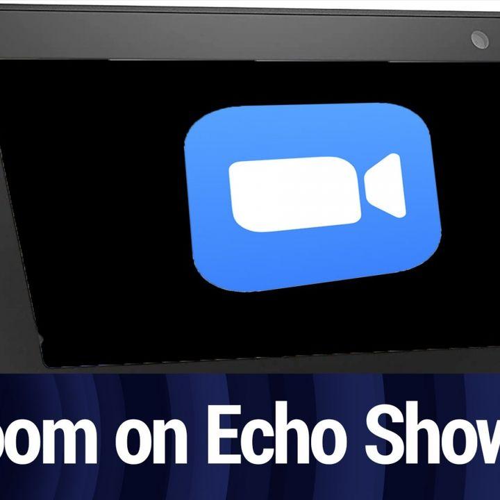 Zoom Expanding to Echo Show & Nest Hub Max   TWiT Bits