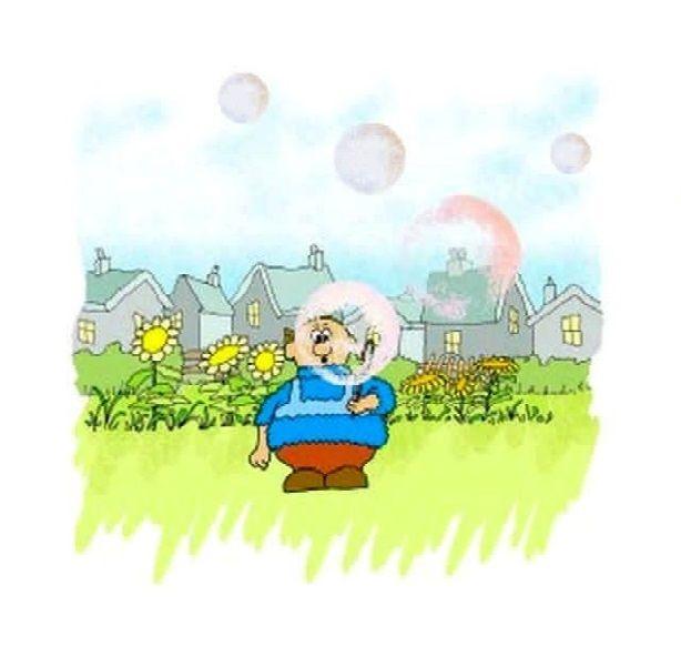 Alfie Blows Bubbles