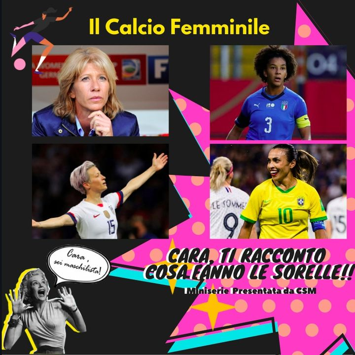 CSM Pillole _ 01 Calcio Femminile