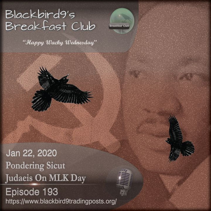Pondering Sicut Judaeis On MLK Day - Blackbird9 Podcast