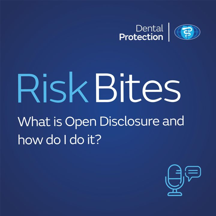 RiskBites: Open Disclosure - Part 1 - What is Open Disclosure and how do I do it?