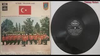 Türk Kara Kuvvetleri Komutanlığı Bando ve Armoni Muzıkası - Harp Okulu Marşı 1971 (Plak Kaydı)