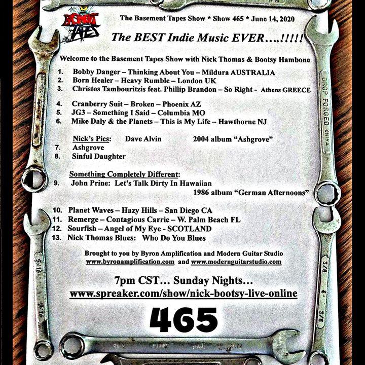 Show #465 - June 14, 2020