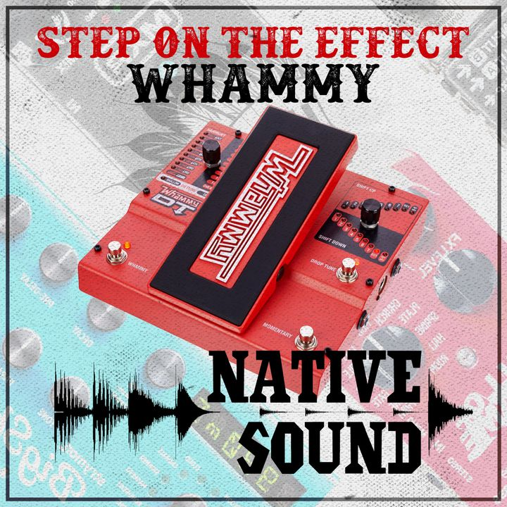 Step on the Effect: Whammy
