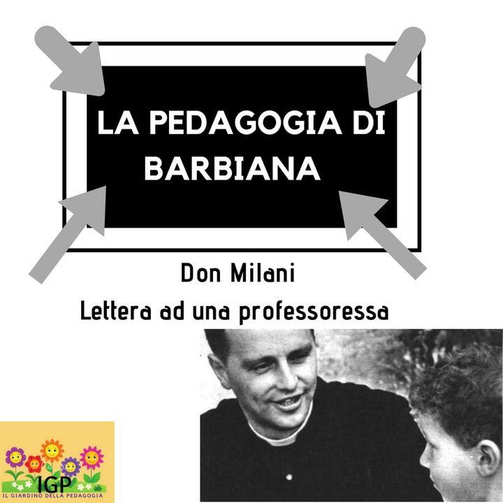 La  Pedagogia  di Barbiana Don Lorenzo Milani 04