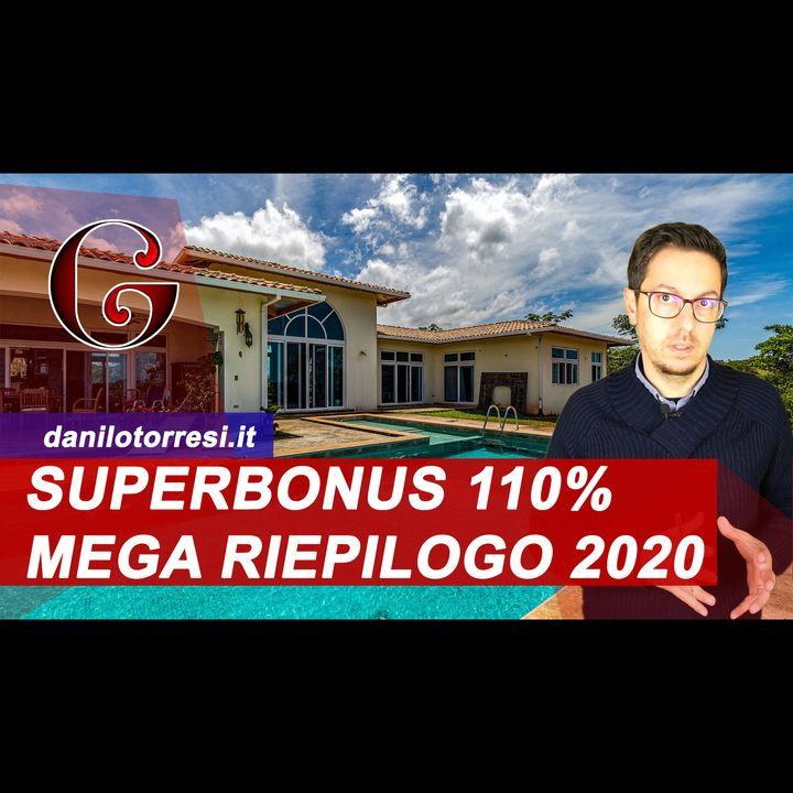 SUPERBONUS 110% dicembre 2020 COME FUNZIONA per la ristrutturazione della casa - aggiornamenti