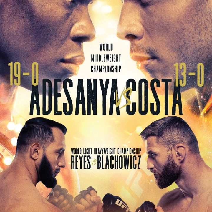 Preview Of The UFC253 PPV Card Headlined By Israel Adesanya - Paulo Costa For The Middleweight Title On ESPN From Yas Island In Abu Dhabi