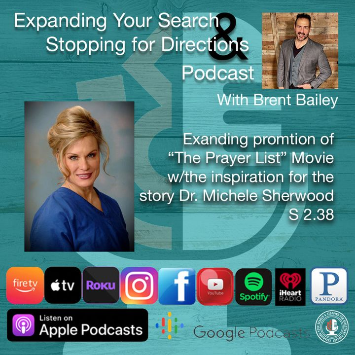 """Expanding promotion for the movie """"The Prayer List"""" w/Dr. Michele Neil Sherwood the inspiration behind the story S2.38"""