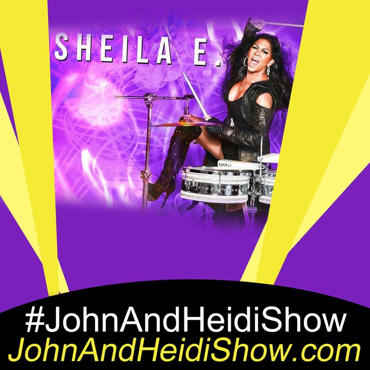 08-07-20-John And Heidi Show-SheilaE