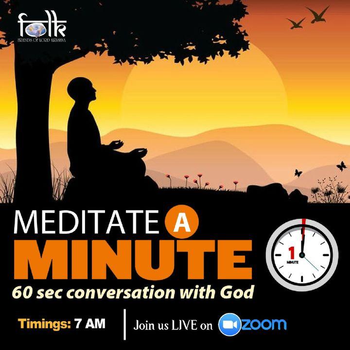 Episode 31 - Meditate A Minute