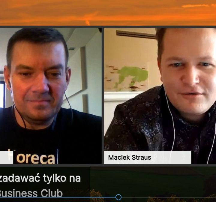 Goście Horeca Radio, odc. 47 - Maciej Straus i Cast Away w Polskim wydaniu