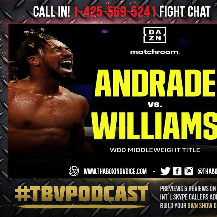 ☎️ Demetrius Andrade vs. Liam Williams🔥Does Andrade Separate Or Does Liam Upset❓