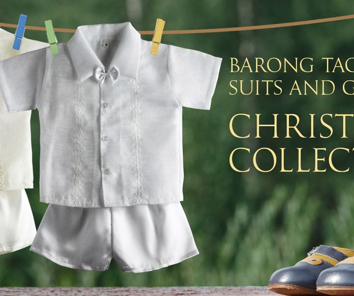 Best online site for Christening gowns - Barongs R us