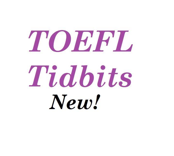 TOEFL Tidbit: Moreover