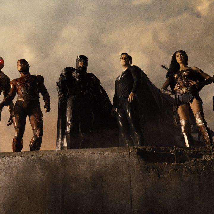"""Czy świat zasłużył na """"Justice League"""" Zacka Snydera? (Goście: Radosław Pisula i Krzysztof M. Maj)"""