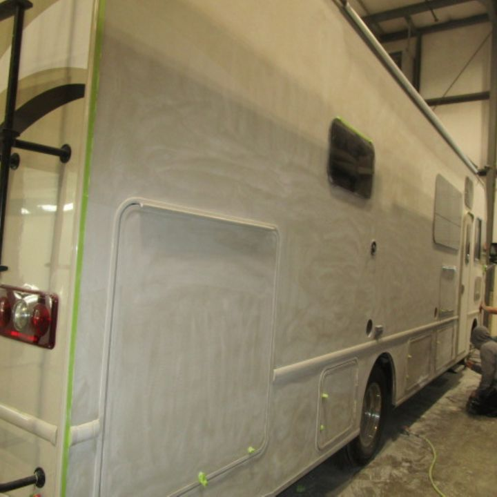 Relax RV- S2- E61 - Repainting the Motorhome