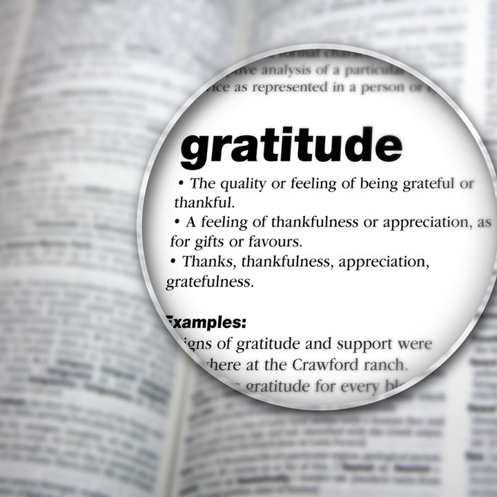 Gratitude Attitude Spiritual Gratitude - Nita Scott Acapella