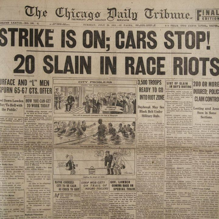 Public Newsroom 102: Reporting on Race and Riots—1919 to Today