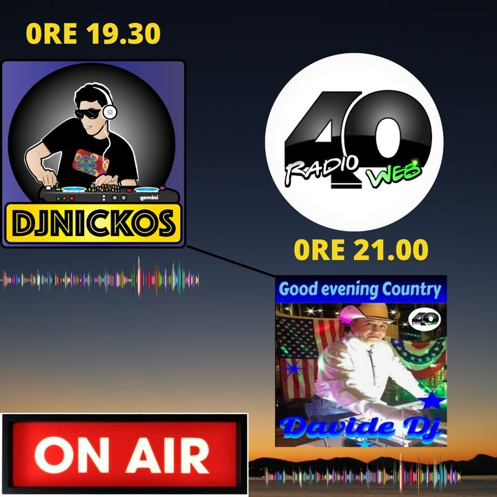 "Radio 40 "" Before The Night "" Martedì sera 23/02/2021"