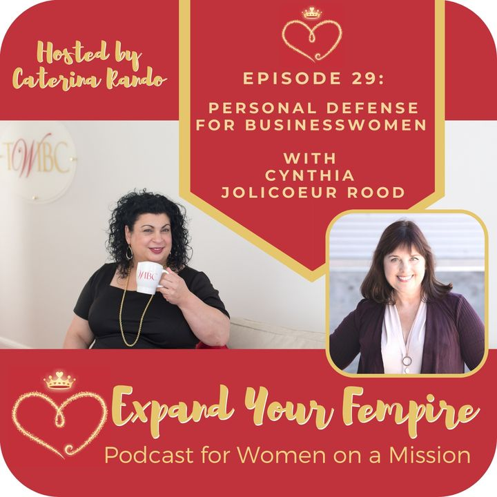 Personal Defense for Businesswomen with Cynthia Jolicoeur Rood