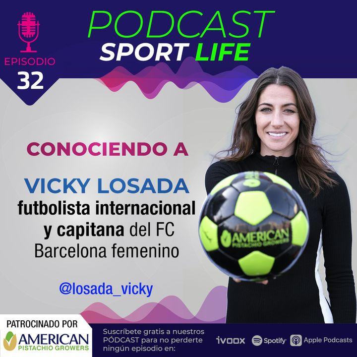 Conociendo a Vicky Losada, futbolista internacional y capitana del Fútbol Club Barcelona