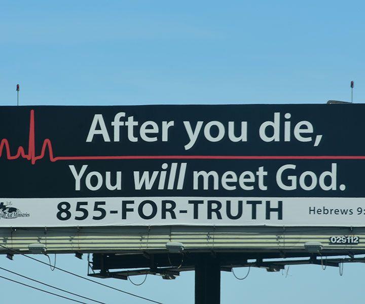 Billboards, Jesus, and Mental Health
