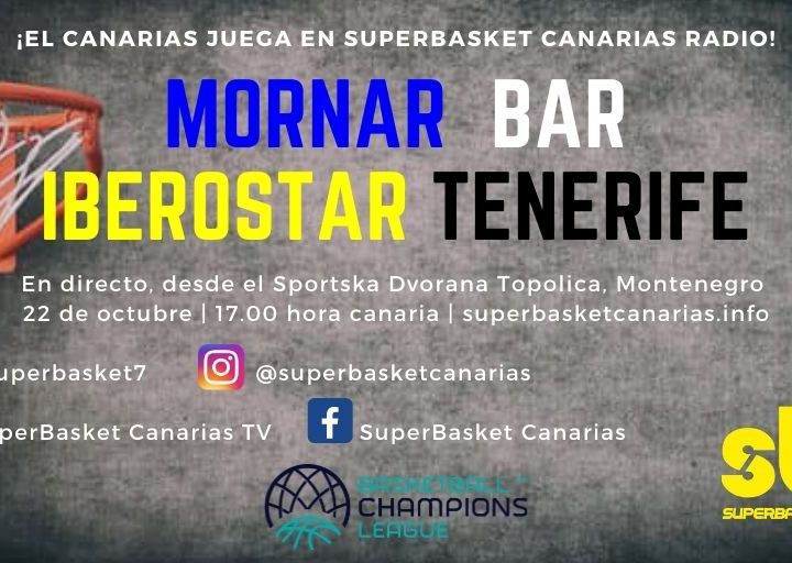 BCL: Mornar Bar-Iberostar Tenerife