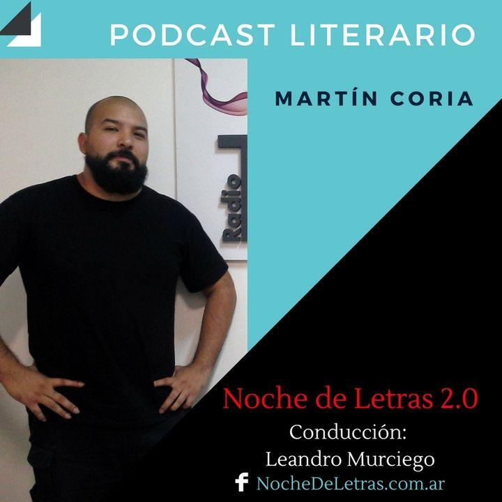 NOCHE DE LETRAS #89, con Martín L. Coria
