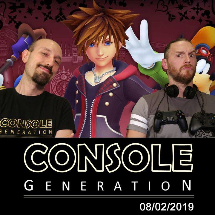 Kingdom Hearts III, Apex Legends e altro! - CG Live 08/02/2019