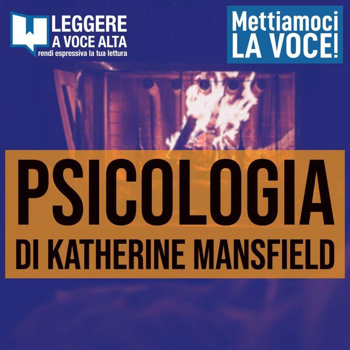 142 - PSICOLOGIA di Katherine Mansfield