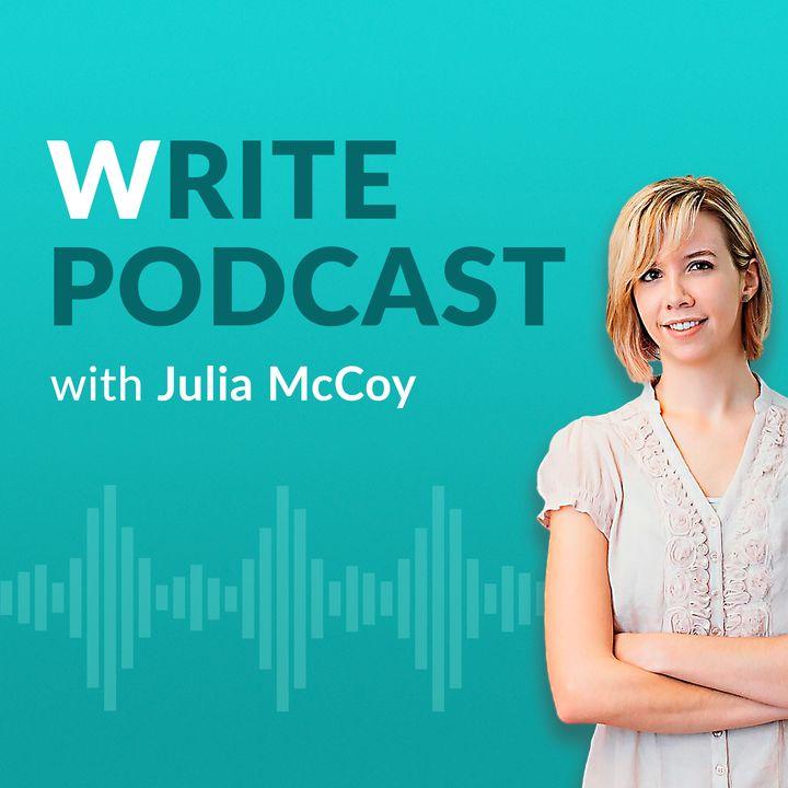 The Write Podcast | Host, Julia McCoy