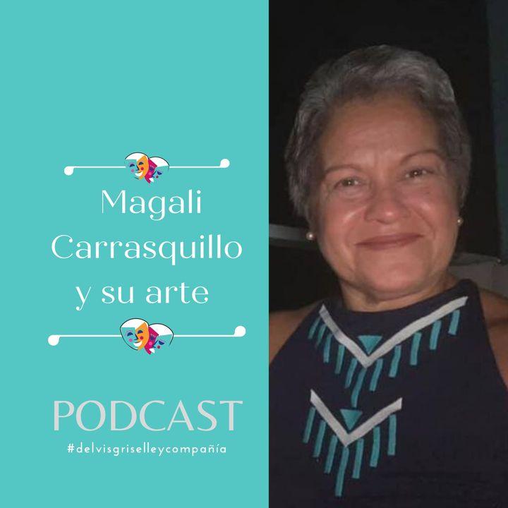 Magali Carrasquillo y su arte