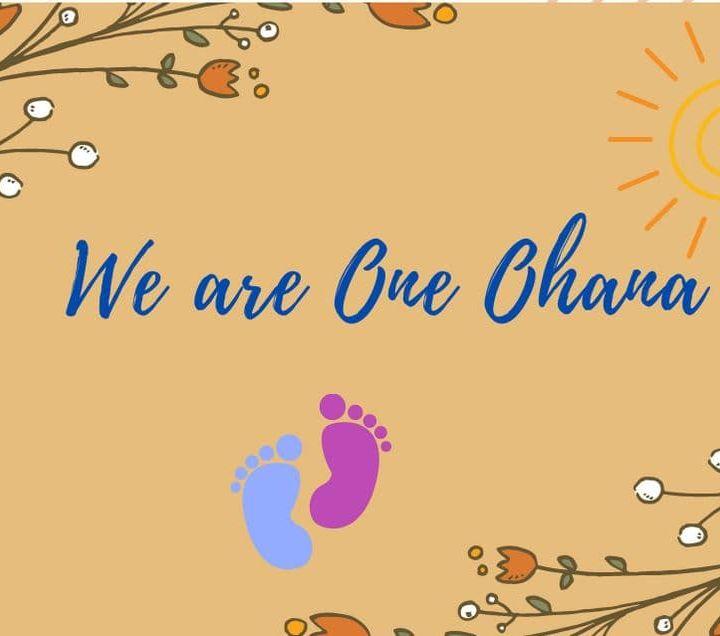 Presentazione di We Are One Ohana Zoom  Martedi 15 Giugno 2021 ore 21