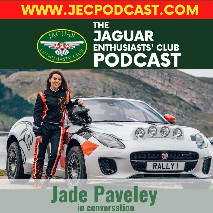Episode 42: Jade Paveley in conversation on rallying an F-type!