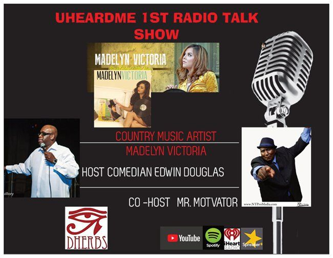 Uheardme1st RADIO TALK SHOW -COUNTRY MUSIC ARTIST MADELYN VICTORIA