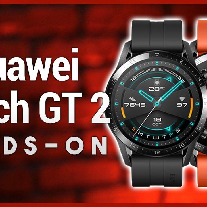 Hands-On Tech: Huawei Watch GT 2 First Look