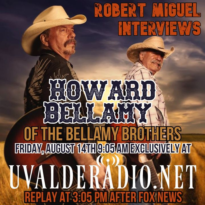 Howard Bellamy of The Bellamy Brothers / August 2020