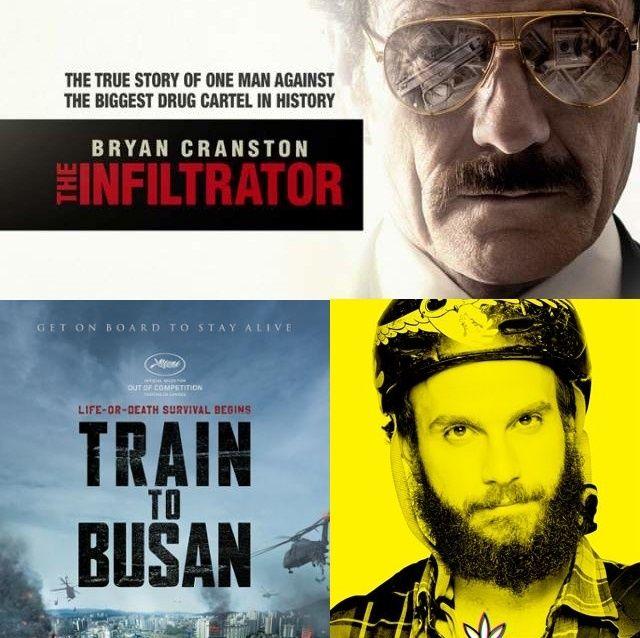 The Infiltrator, Train to Busan, High Maintenance, Dark Matter