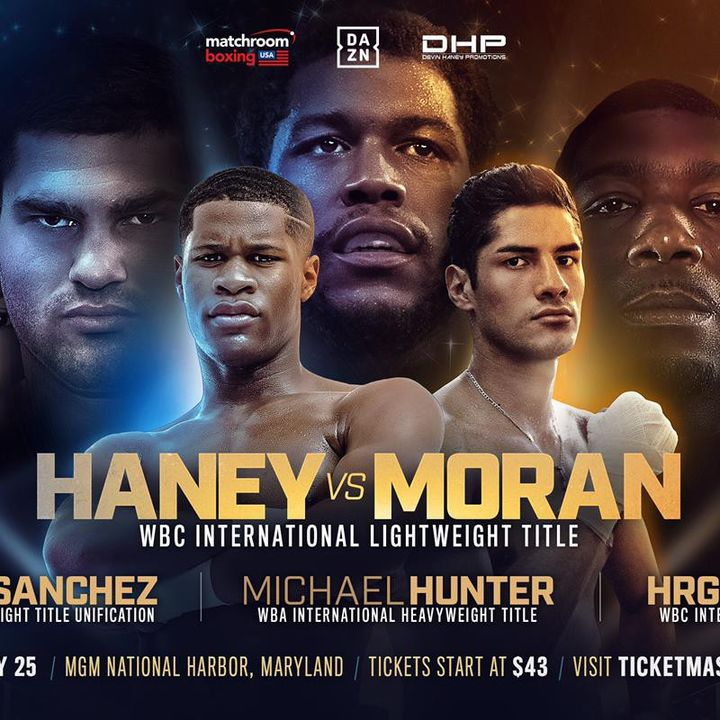 HUGE BOXING Card Update Devin Haney Will Headline Dazn May 25th Card For The WBC Lightweight International Title Plus Stacked Undercard!!