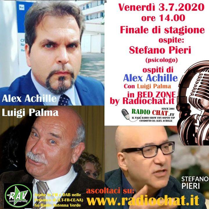 """Ultima puntata di stagione di """"Red Zone"""" by Radiochat.it ospite: Stefano Pieri"""