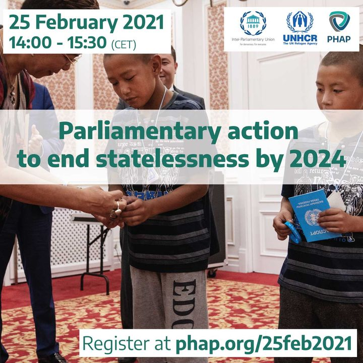 Parliamentary action to end statelessness by 2024