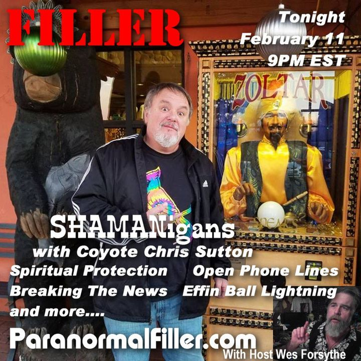 SHAMANigans On Paranormal Filler