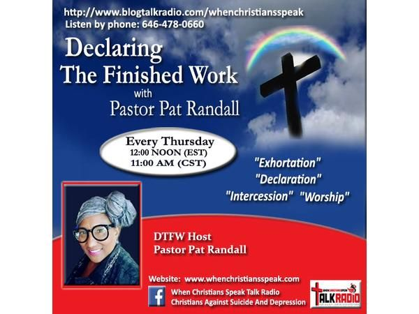 """""""Resting In Your Helplessness Pt 3: Being Placed In Christ""""- DTFW (REPLAY)"""