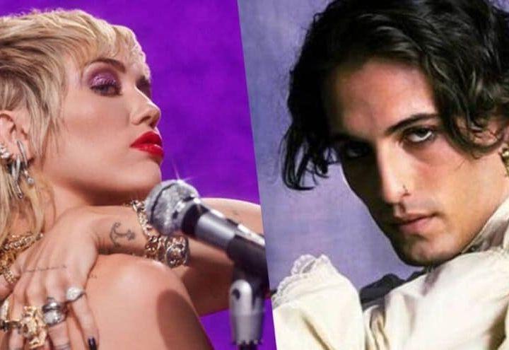 Miley Cyrus  ed i Maneskin