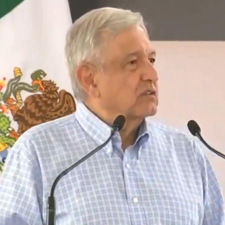 López Obrador dice que a la primera manifestación de 100 personas se va a Chiapas