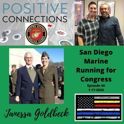 San Diego Marine Running for Congress: Janessa Goldbeck