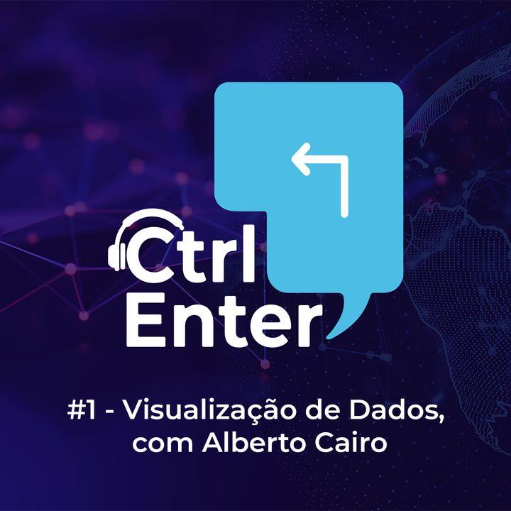 CTRL ENTER #01 | Visualização de dados, com Alberto Cairo