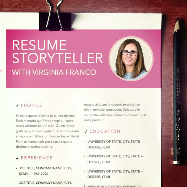 Resume Storyteller with Virginia Franco