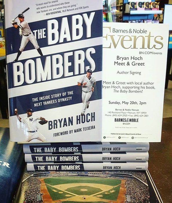 """Books on Sports: Author Bryan Hoch talks about his new book """"The Baby Bombers: The inside story of the next Yankees dynasty"""""""